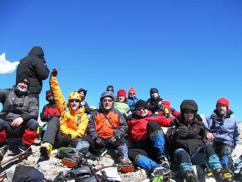 2012-3-10.  Linza Aterpea Petretxema (2371m) Lescun Camillen Bidea