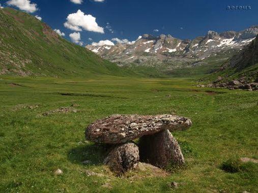 1-7-2012. Pic d'Arlet (2.207 m.), Increible Ruta selva de Oza