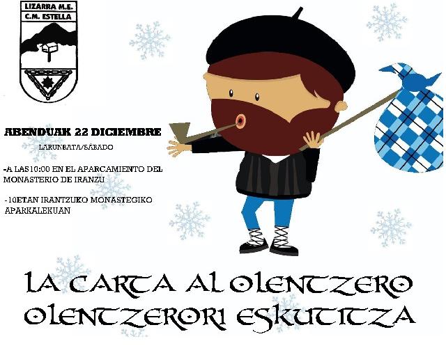 22-12-2012. LA CARTA AL OLENTZERO