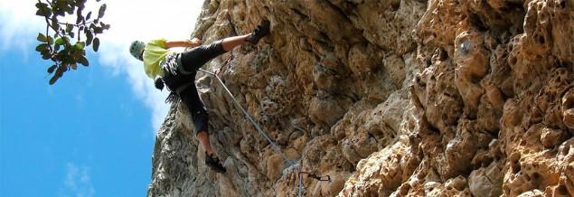Curso escalada básico en San Fausto