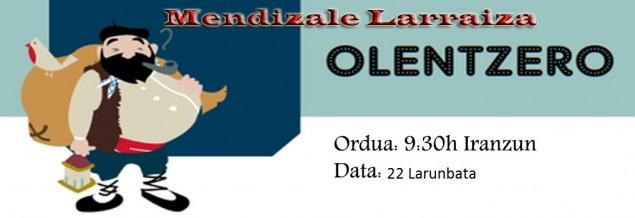 Olentzero Larraiza Aterpean