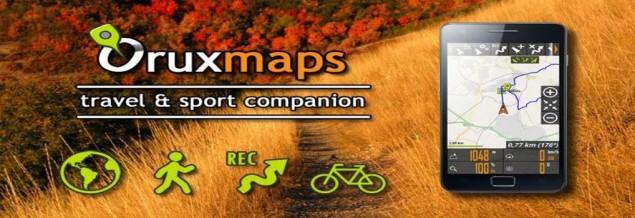 Ikastaroa manejo de la aplicación Oruxmaps para móviles y manejo de gps Garmin .