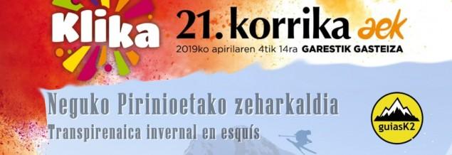 Diaporama  Neguko Pirineotako Zeharkaldia