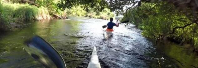 Kayak irunberriko arroila  Rio Irati Ibaia